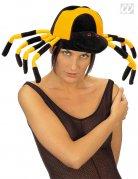 Spinnen-Hut Kopfbedeckung Accessoire schwarz-gelb 56,5cm