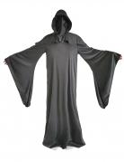 Sensenmann Gesichtsloser Tod Halloween Kostüm schwarz