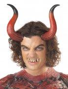 Dämon Hörner rot mit Zähnen