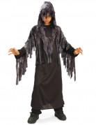 Ghul-Kinderkostüm Halloween schwarz-grau