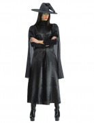 Fiese Hexe Halloween Damenkostüm schwarz