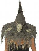 Hexenhut Totenkopf grau