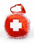 Handtasche Krankenschwester rot-weiß