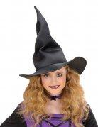 Formbarer Hexen-Hut für Kinder schwarz