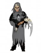 Grim Reaper Kinder-Kostüm grau-schwarz