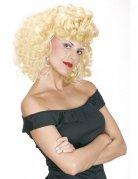50er Jahre Locken Perücke blond