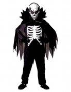 Skelett-Lord Kinderkostüm schwarz-weiss