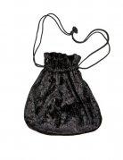 Beuteltasche Tasche Tragetasche schwarz