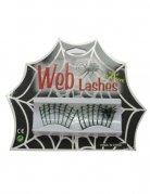 Halloween Spinnennetz Wimpern