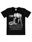 Star Wars AT-AT T-Shirt Slimfit schwarz