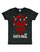Star Wars™ T-Shirt Darth Maul Slim Fit Lizenzware schwarz-bunt