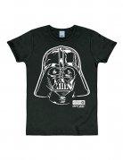 Star Wars Darth Vader Portrait T-Shirt Slimfit schwarz