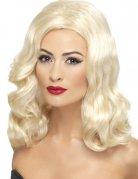 20er Can Can Damen-Langhaarperücke blond