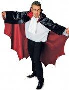 Vampir-Umhang Fledermaus-Cape schwarz-rot 136cm