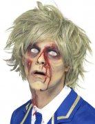 Zombie Kurzhaar-Perücke blond
