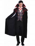 Vampir XL Halloween-Kostüm Dracula schwarz-rot