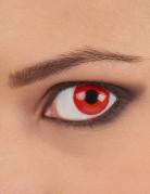 Kontaktlinsen Teufel rot