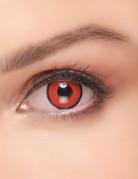 Kontaktlinsen Manson rot-schwarz