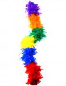Federboa Regenbogen bunt 180cm