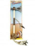 Indianer Tomahawk braun-beige