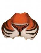 Tiger-Nase orange-weiss