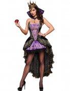 Dunkle Märchenkönigin Halloween-Damenkostüm schwarz-lila