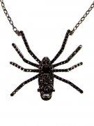 Kreepsville Spinnen-Halskette schwarz