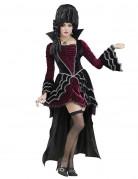 Viktorianische Vampirin Halloween Damenkostüm bordeaux-schwarz