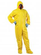 Biogefährdung Schutzanzug-Kostüm Halloween-Kostüm gelb-orange