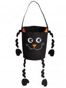 Trick or Treat Halloween Tasche Katze schwarz 30cm