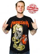 Metallica Heart Explosive T-Shirt  - Limited Edition Exklusiv bei KULTFAKTOR GmbH