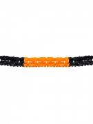 Girlande Halloween Party-Deko schwarz-orange 400x14,5cm