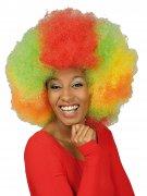 Mega Afro-Perücke bunt