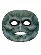 Gruseliger Zombie Gesichts-Tattoo Halloween bunt