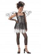 Dunkler Engel Halloween Teenkostüm schwarz-weiss