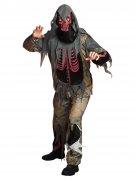 Zombie-Skelett Halloween-Kostüm bunt