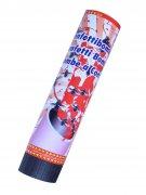 Konfetti-Bombe mit Fliegen Halloween Party-Deko bunt 21x4cm