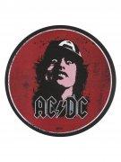 Fussmatte AC/DC Angus Young Lizenzprodukt rot-schwarz 60cm