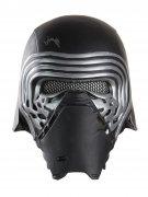 Star Wars Kylo Ren Helm für Kinder Lizenzartikel schwarz-silber