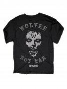 The Walking Dead T-Shirt Wolves not far Lizenzware schwarz-grau