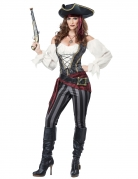 Piratenkostüm für Damen bunt