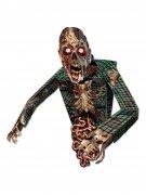 Schauriger Zombie Papp-Figur Halloween Party-Deko bunt 86cm