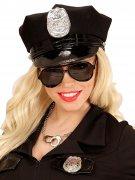 Piloten-Brille Cop schwarz