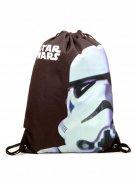 Star Wars Stormtrooper Turnbeutel Lizenzware schwarz-weiss