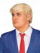 Präsidenten Perücke Donald Geschäftsmann blond