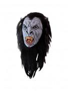 Schaurige Dracula™-Werwolfmaske grau-schwarz