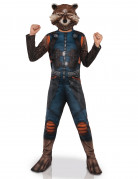 Rocket Racoon™-Kinderkostüm blau-schwarz-orange