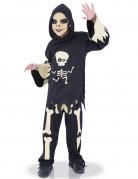 Frecher Untoter Halloween-Kinderkostüm schwarz-beige