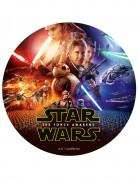 Star Wars VII™ Kuchendekoration bunt 20cm