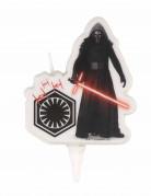 Kylo Ren-Kerze Star Wars™ schwarz-weiss-rot 9cm